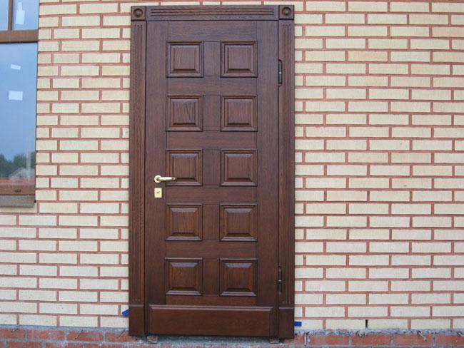 купить теплую входную дверь для частного дома