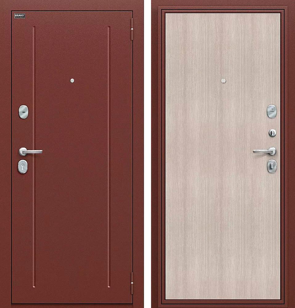 фото дверей из стали достаточно одних природных